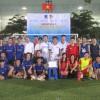 Giải bóng đá quyên góp ủng hộ đồng bào miền Trung