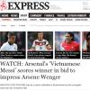 Báo Anh muốn HLV Arsenal chiêu mộ 'Messi Việt Nam' Công Phượng