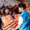 BSR trao tặng áo phao cho học sinh vùng lũ
