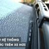Tìm hiểu hệ thống gạt nước trên xe hơi