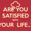 English Topic – Are you satisfied with your life ?