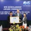 Trao học bổng SPE cho sinh viên Đại học Mỏ – Địa chất
