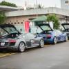 Ảnh chi tiết dàn Audi R8 V10 tại Phú Quốc