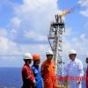 Giàn BK-TNG mỏ Thiên Ưng khai thác hơn 54 triệu m3 khí