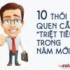 """10 thói quen xấu cần """" triệt tiêu"""" trong năm mới"""