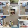 Sáng tạo: Căn hộ siêu nhỏ gọn tiện nghi cho 7 sinh viên tại Thái Lan