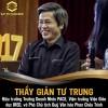 Thầy Giản Tư Trung – đồng hành cùng Say to Succeed 2018