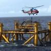 Video – Máy bay Trực thăng chuyển người ra thi công giàn khoan Thiên Ưng 1