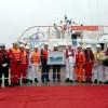 Bàn giao tàu đóng mới PTSC 07 phục vụ Nhà máy Lọc hóa dầu Nghi Sơn