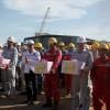 Tổng Giám đốc PVN Nguyễn Vũ Trường Sơn kiểm tra công tác tại PTSC M&C
