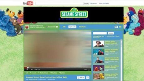 Kênh trẻ em YouTube Sesame Street bị hacker tấn công