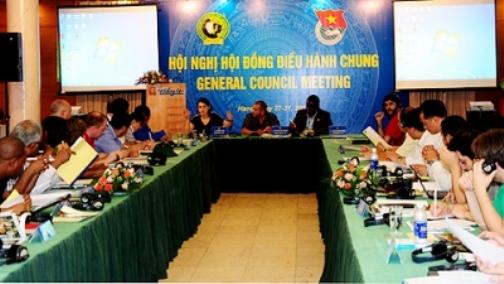 Thanh niên dân chủ thế giới sát cánh cùng nhân dân Việt Nam giữ vững chủ quyền