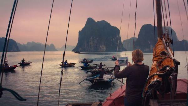 Việt Nam đẹp lung linh trong quảng cáo iPad Air của Apple