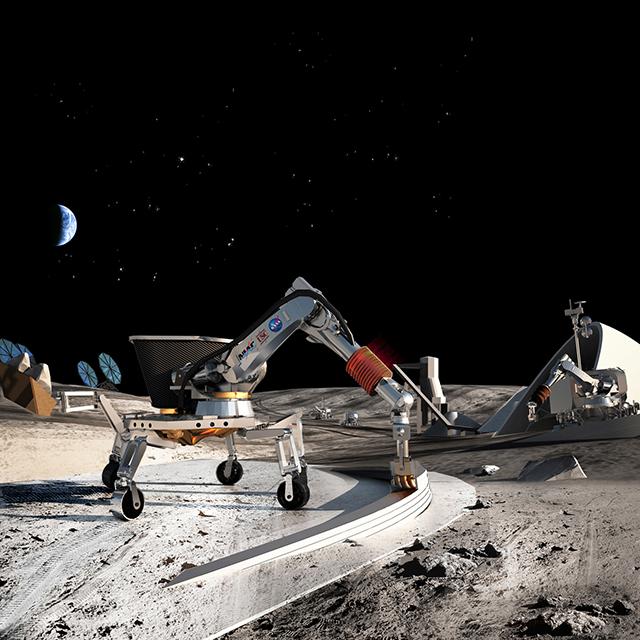 Robot sẽ sử dụng công nghệ in 3D để xây dựng căn cứ trên sao Hỏa trước khi các phi hành gia đến