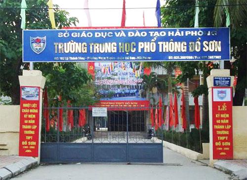 Thư mời – Lễ Kỷ niệm 50 năm ngày thành lập trường THPT Đồ Sơn