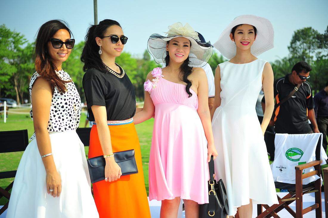 Thu Minh, Hồng Nhung, Hà Kiều Anh, Xuân Lan… thanh lịch trên sân polo