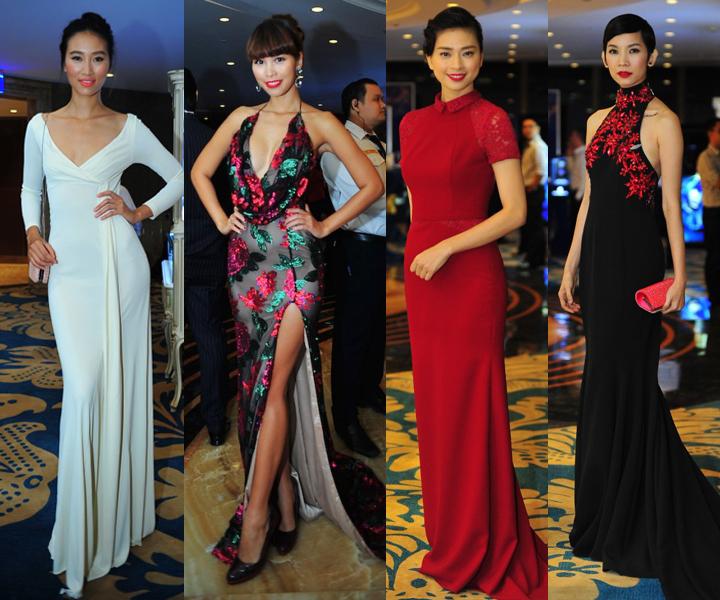 Mỹ nhân Việt khoe sắc tại tiệc đấu giá Polo từ thiện