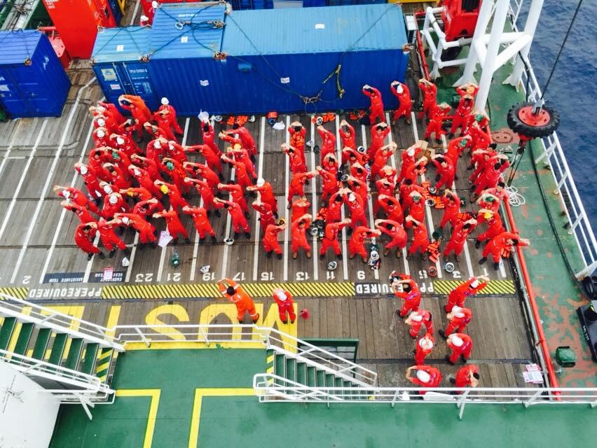 Góc offshore – Các hoạt động cuối cùng trên biển Brunei – Maharaja lela South Project