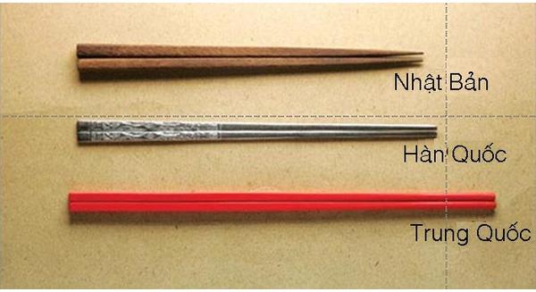 Cách dùng và văn hoá dùng đũa khi ăn