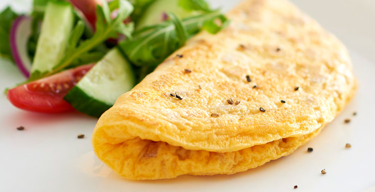 cach-giam-can-nhanh-trung-omelette