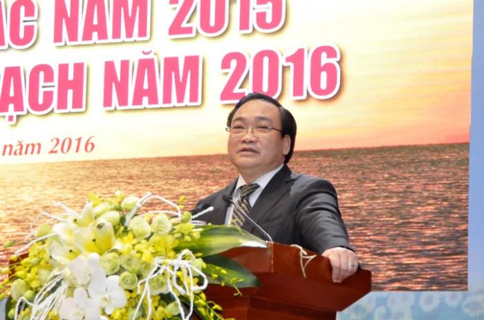 Tập đoàn dầu khí Việt Nam (PVN) – Hội nghị tổng kết công tác năm 2015 và triển khai kế hoạch năm 2016