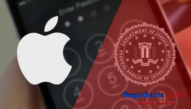 apple va FBI