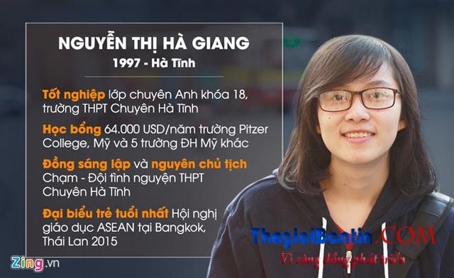 Nữ sinh Hà Tĩnh giành học bổng 6 tỷ tại Mỹ