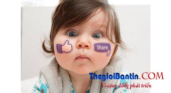 dang-anh-con lan Facebook se bi phat