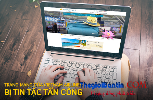 Tin tac hacke tan cong Vietnam Airline
