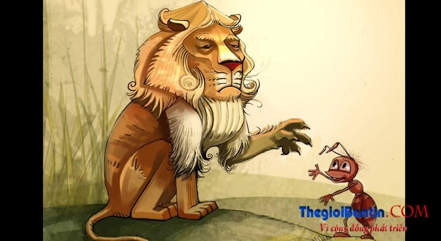 [Câu chuyện lãnh đạo] Từ chuyện ngụ ngôn về con kiến và sư tử, ngẫm chuyện quản lý doanh nghiệp