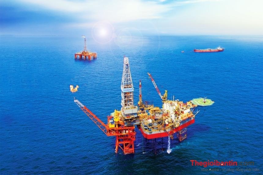 PVEP hoàn thành xuất sắc sản lượng khai thác quý I