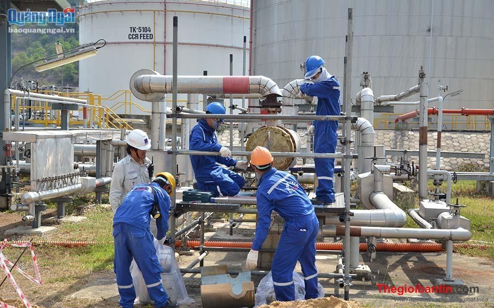 PV DMC tham gia bảo dưỡng Nhà máy lọc dầu Dung Quất