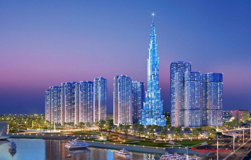 8 điều ấn tượng tại tòa tháp cao nhất Việt Nam- Landmark 81