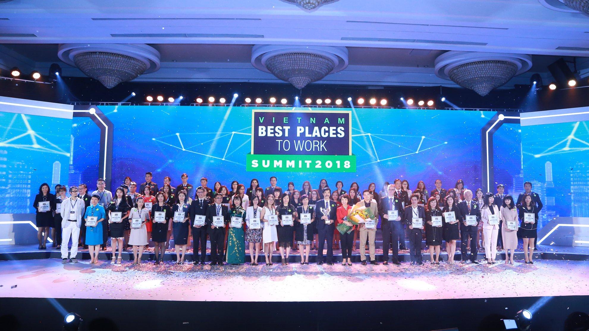 100 Công ty có nơi làm việc tốt nhất Việt Nam năm 2017