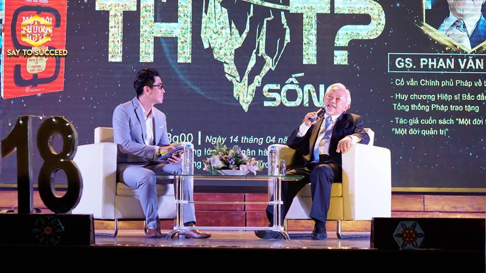 Những tâm sự của Giáo sư Phan Văn Trường tại Say To Succeed 2018