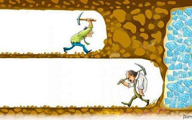 Bài học về sự kiên trì mà bất kỳ ai cũng phải ghi nhớ trong đời: Cách nhanh nhất để vượt qua tảng đá là đi xuyên qua nó!