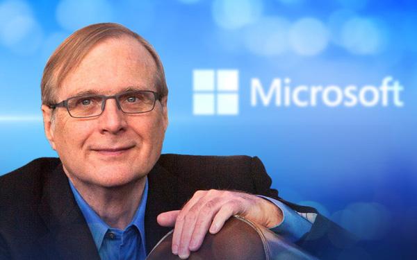 Chân dung nhà đồng sáng lập Microsoft Paul Allen: Doanh nhân, tỷ phú, nhà đầu tư tài ba đầy chất nghệ sỹ