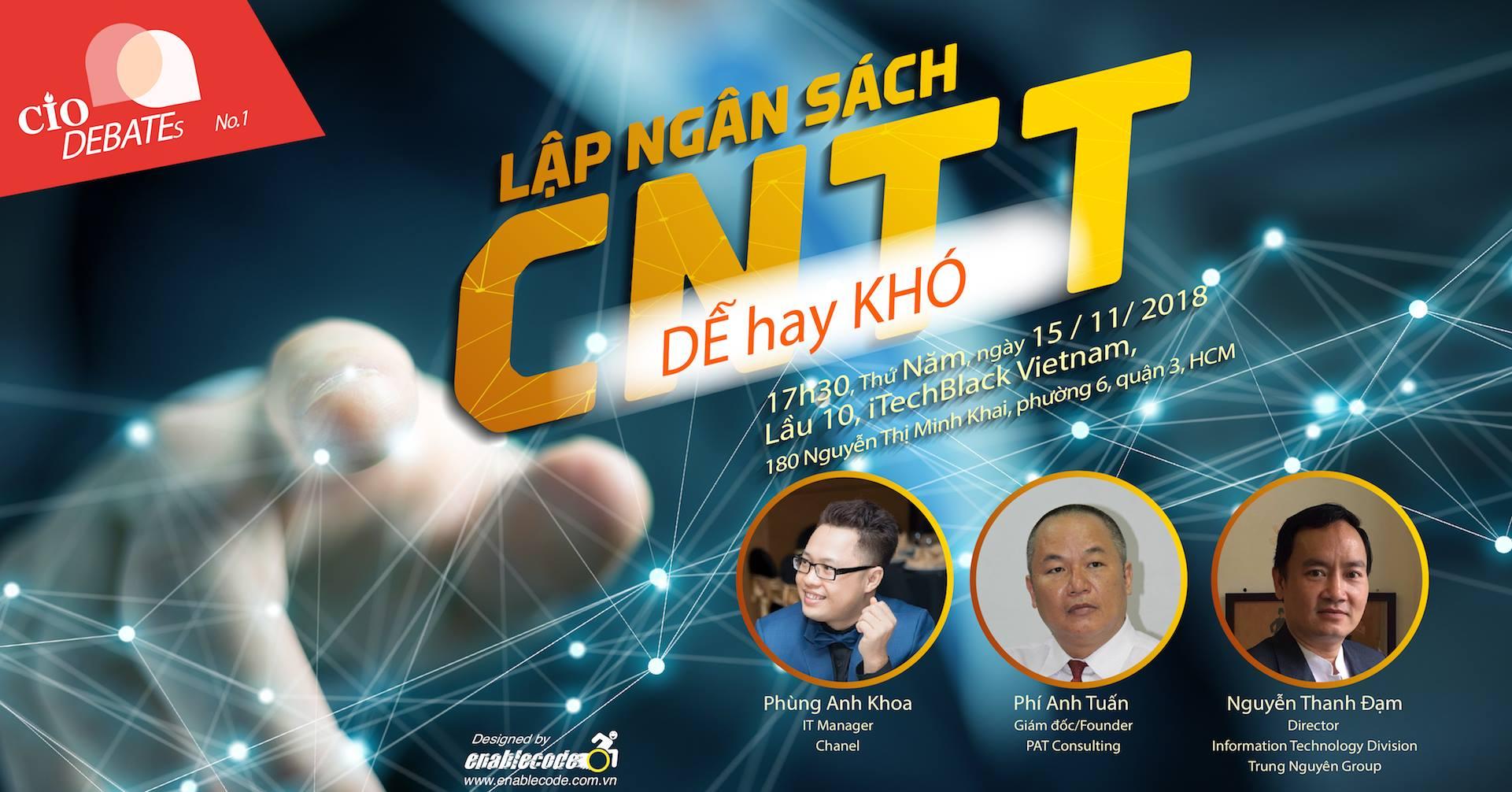 CIO Vietnam – Lập ngân sách cho CNTT dễ hay khó ?