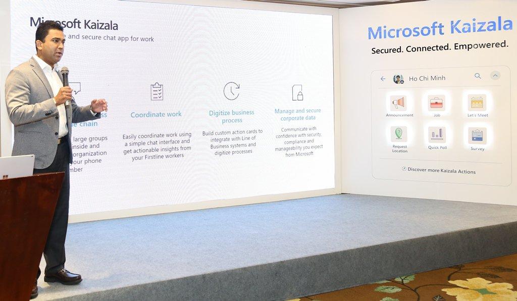Microsoft ra mắt ứng dụng chat trực tuyến Microsoft Kaizala dành riêng cho doanh nghiệp