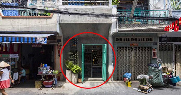 Chiêm Ngưỡng Ngôi Nhà Bề Ngoài Lụp Xụp, Bèo Nhèo Rộng 3 Mét Ở Sài Gòn, Nhưng Bên Trong Là Cả Một Kiệt Tác