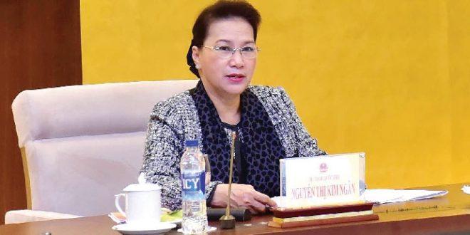 """Chủ tịch Quốc hội Nguyễn Thị Kim Ngân: """"Dầu khí là ngành kinh tế rất quan trọng của đất nước"""""""