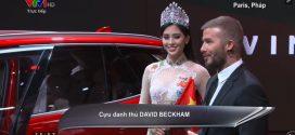 David Beckham nói gì về xe Vinfast ?