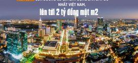 Toàn cảnh con đường có giá bất động sản đắt đỏ nhất VN, lên tới 2 tỷ đồng/m2
