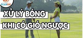 Dạy Golf Online – Kỹ thuật Xử lý bóng khi đánh trong điều kiện Gió to – Gió ngược