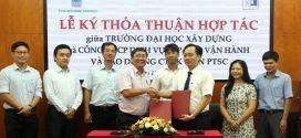 PTSC POS ký kết thỏa thuận hợp tác với trường Đại học Xây dựng Hà Nội (NUCE)