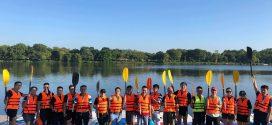 Security BootCamp – Các chuyên gia An ninh mạng, an toàn thông tin hàng đầu Việt Nam chèo SUP trên sông Hương nhặt rác, bảo vệ môi trường.