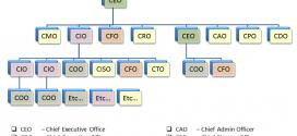 CEO, CFO, CPO, CCO, CHRO, CMO là gì? Vai trò & quyền hạn như thế nào?