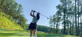 Dạy Golf online – Đánh bóng NTN khi Chân ở vị trí Cao hơn