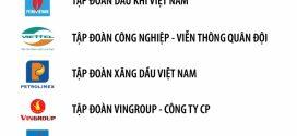 PVN trong Top 3 doanh nghiệp lớn nhất Việt Nam 2019