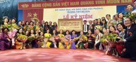 Tưng bừng kỷ niệm ngày thành lập ngôi trường 50 tuổi ở Đồ Sơn, Hải Phòng